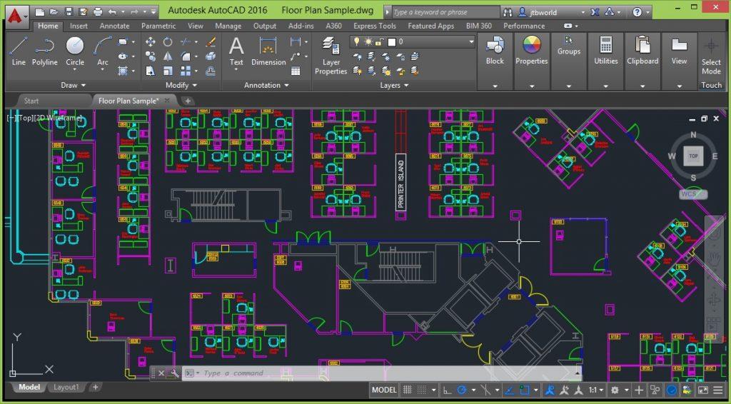 نرمافزار AUTO CAD